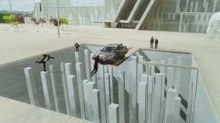 3D видео с Honda CRV(Золотой лев Каннского фестиваля. Работа моей знакомой - 3д уличного художника из Калифорнии с мировой извес..., 2014-07-16T04:34:35.000Z)