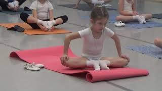 10 Часть.Урок балета для детей. Развитие данных у детей. Первые шаги в хореографии. Растяжка