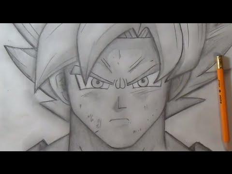 Comment dessiner transformation de sangoku en super saiyan - Naruto facile a dessiner ...