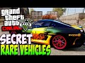 GTA 5 Story Mode RARE Cars Locations
