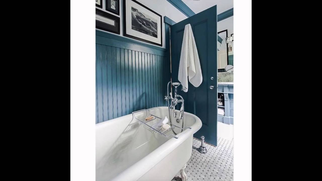 bathrooms salvaged cast-iron tub - YouTube