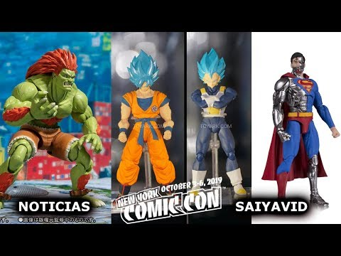 Noticias New York Comic Con 2018 Dragon Ball/DC/Marvel/Mortal Kombat/Street Fighter thumbnail