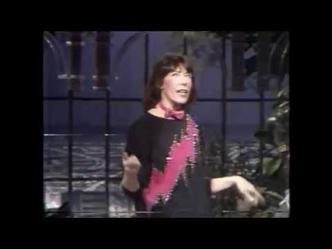Lily Tomlin on David Letterman Silver Boots