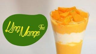 Cara Membuat Minuman King Mango Thai Kekinian