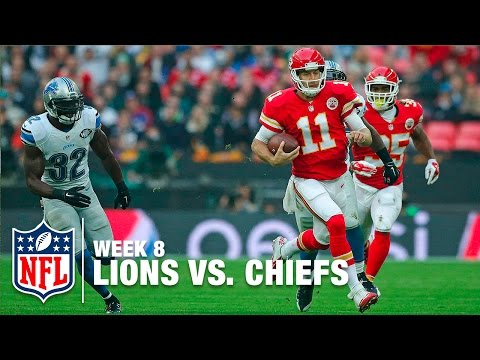 Alex Smith: 2 Carries, 61 Yards, 1 TD on 1 Drive! | Lions vs. Chiefs | NFL