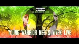 DUBWISE.TV - Rinse FM Special - Young Warrior meets Vivek (SYSTEM) LIVE - Dub 2 Dubstep