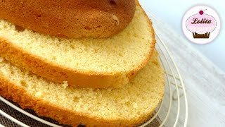 Receta de bizcocho Genovés | Bizcocho para tartas | Bizcocho base thumbnail