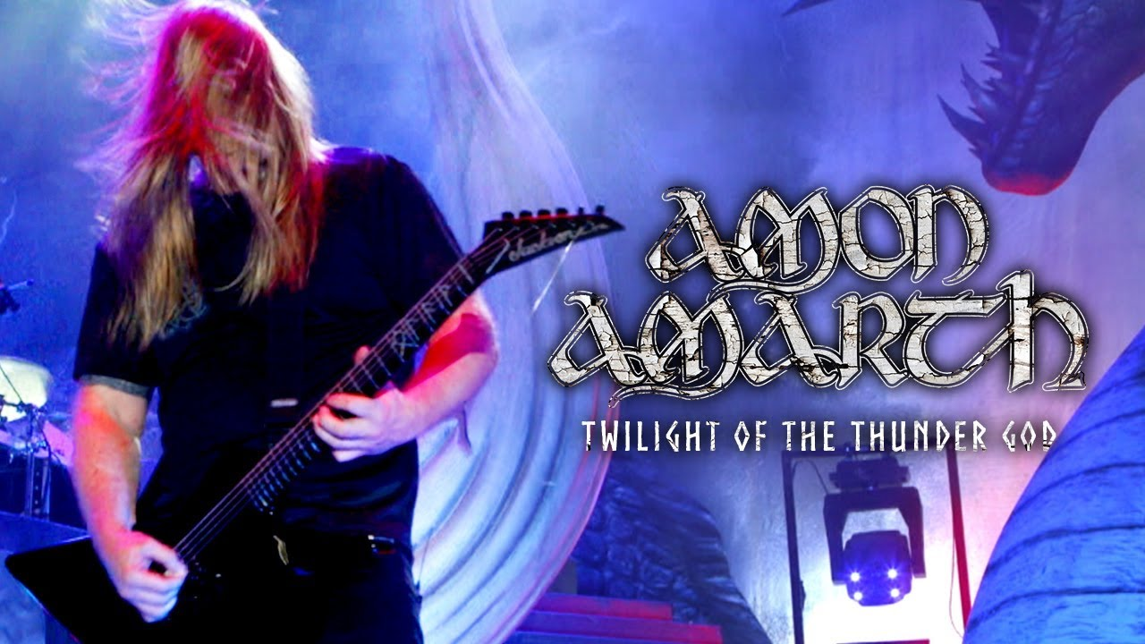 Amon Amarth Twilight Of The Thunder God Official Live Video