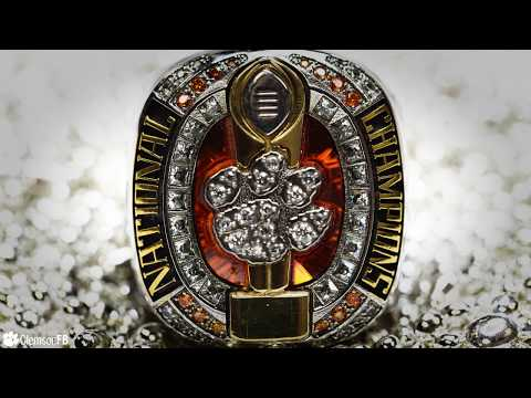 Clemson Football || National Championship Rings