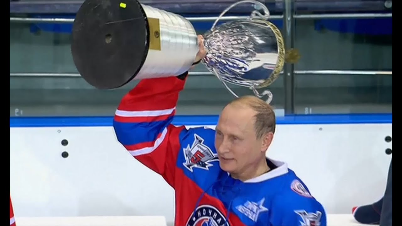 Vladimir Putin Spends 63rd Birthday Playing Hockey With Nhl Stars Against Russian Officials Youtube