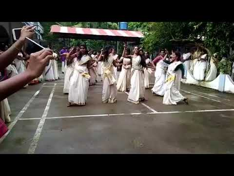 Onam special performance by FMTC, students...