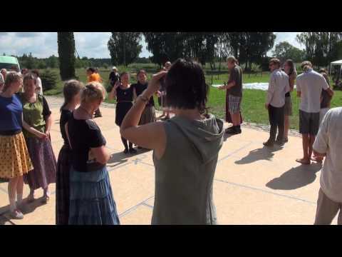 X Tradicinių šokių klubo vasaros stovykla 3.08.2013. Belorussian dance workshop - 00249-60