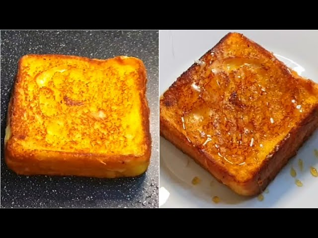 Classic Eggless French Toast Recipe ♥️ |   3 Different Ways  { NO EGGS }