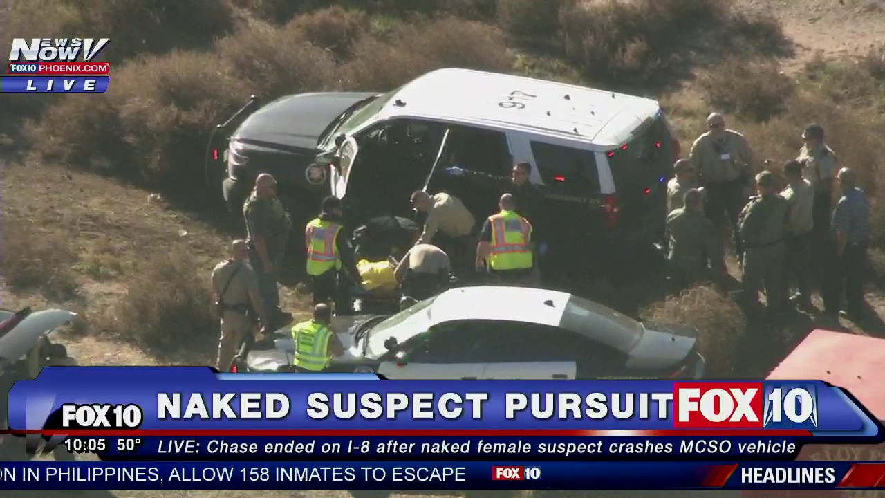 Wow Naked Woman In Custody After Stealing Sheriffs -6927