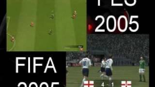 FIFA VS PES GAMEPLAY PART 2