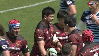 【ハイライト】第7節 宗像サニックス vs 東芝(2021年4月11日)