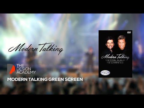 Modern Talking Logo Animation Green Screen (Free Green Screen)