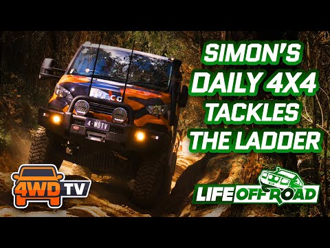 Simon's IVECO DAILY 4X4 Tackles THE LADDER