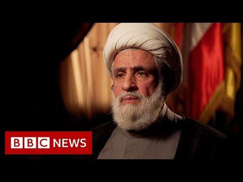 Hezbollah deputy leader Naim Qassem Interview - BBC News