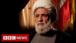 Hezbollah deputy leader Naim Qassem Interview - BBC News