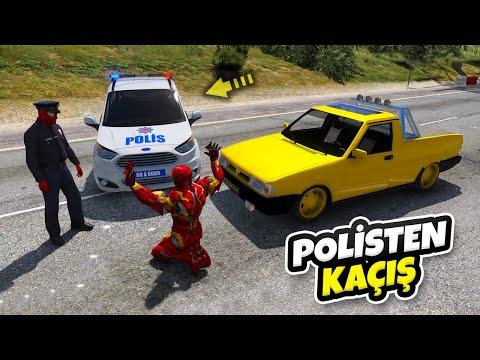 Tofaş Ailesi Arabalar Polisden Kaçıyor - GTA 5