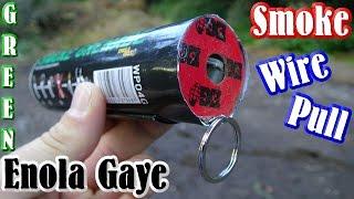 Enola Gaye Smoke Grenade - GREEN - Wire Pull [HQ]