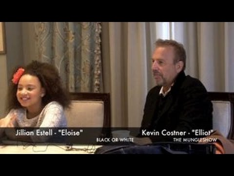 "Kevin Costner & Jillian Estell talk ""Black Or White"" #LoveHasNoColor"