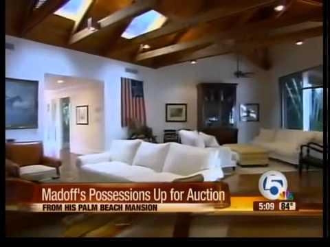 Bernie Madoff's Palm Beach possessions on auction block
