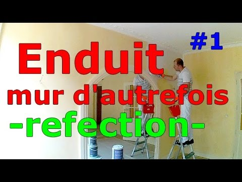 Enduit Cir  Repeindre REnduire   Youtube