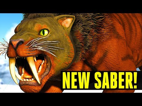 ARK SURVIVAL EVOLVED - TOP 10 FEATURES YOU NEED TO KNOW ABOUT UPDATE 260! NEW SABERTOOTH, TEK TROUGH