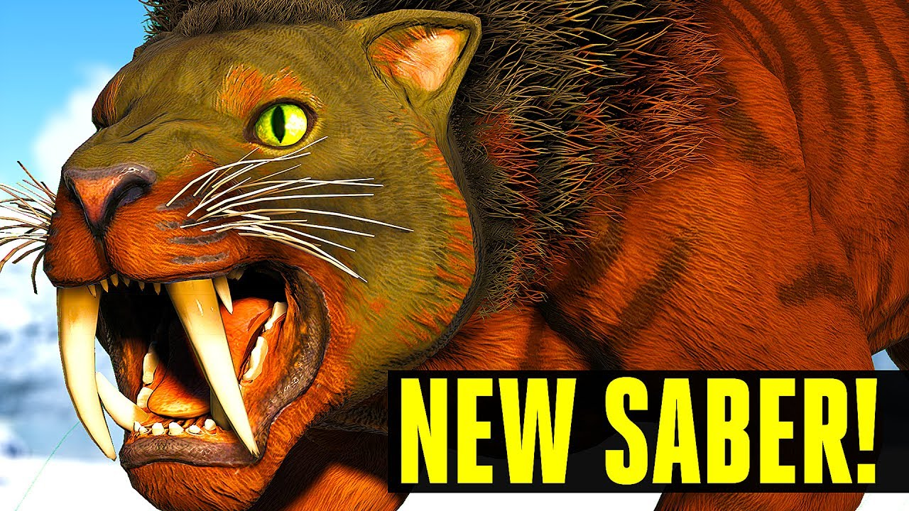 ARK SURVIVAL EVOLVED - TOP 10 FEATURES YOU NEED TO KNOW ABOUT UPDATE 260!  NEW SABERTOOTH, TEK TROUGH - Музыка для Машины