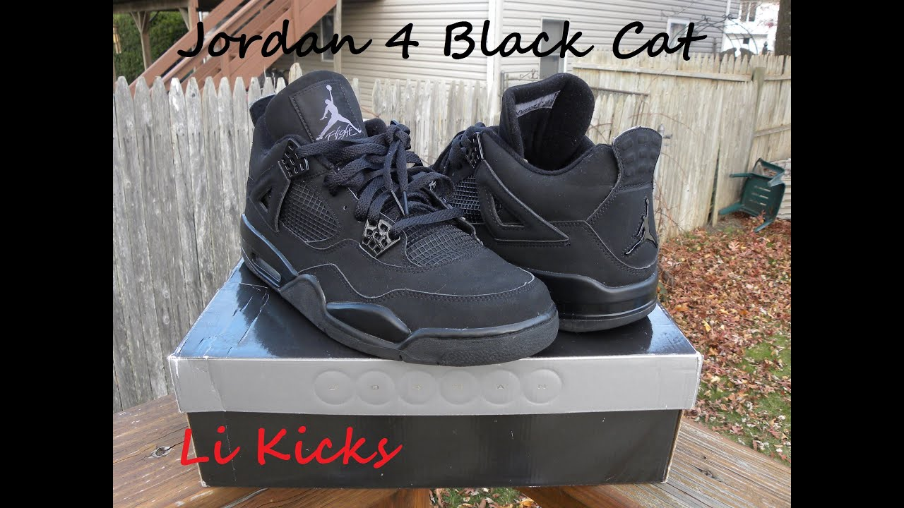 pretty nice a30c2 56dd7 2014 authentic air jordan 4 iv black cat review verytrade