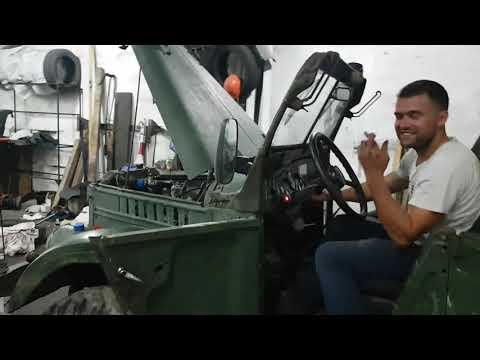 ТАКОГО НИКТО НЕ ОЖИДАЛ первый ЗАПУСК после замены колевала ГАЗ-69А