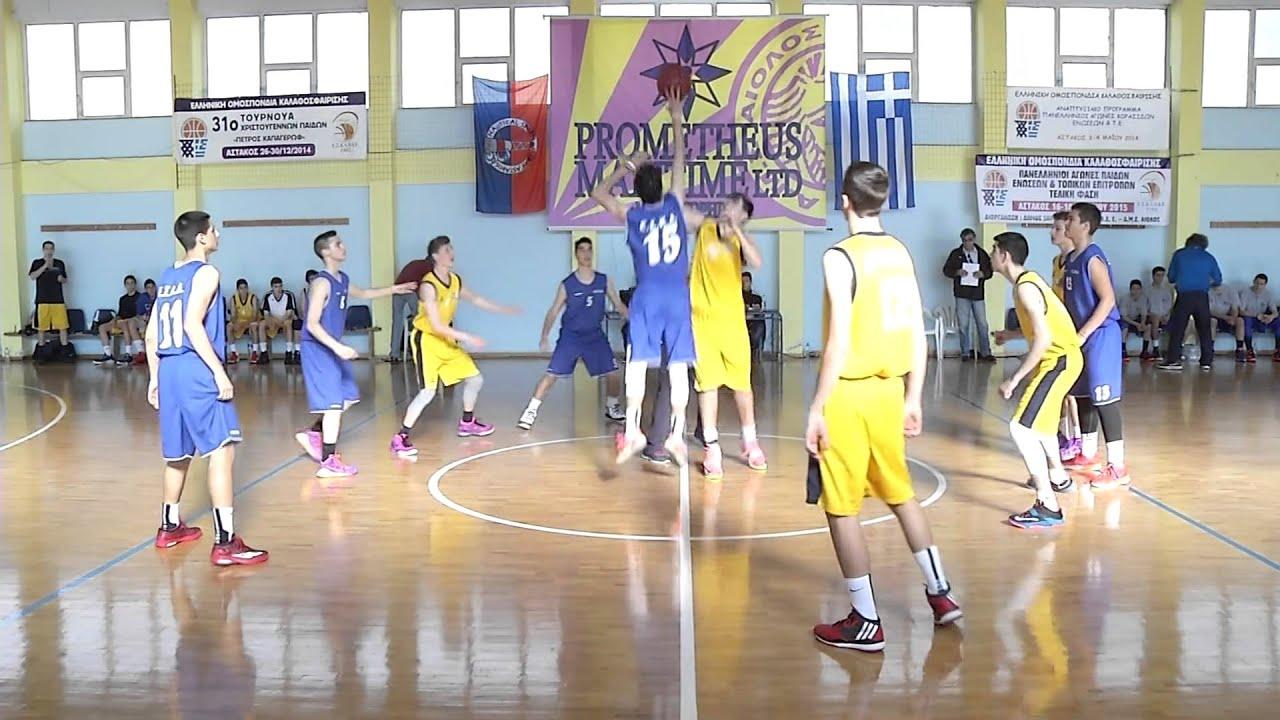 Πανελλήνιοι αγώνες παίδων Ενώσεων και Τ.Ε.-Αστακός αιτ/νιας 2015