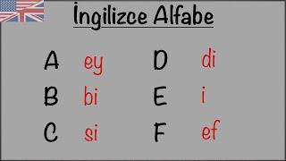 İngilizce Alfabe + Pratik  English Hoca