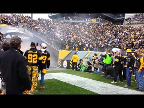 Steelers tunnel exit