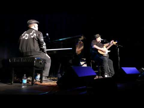 Popa Chubby (& Dave Keyes) - at Arts Common in Calgary - May 7, 2017