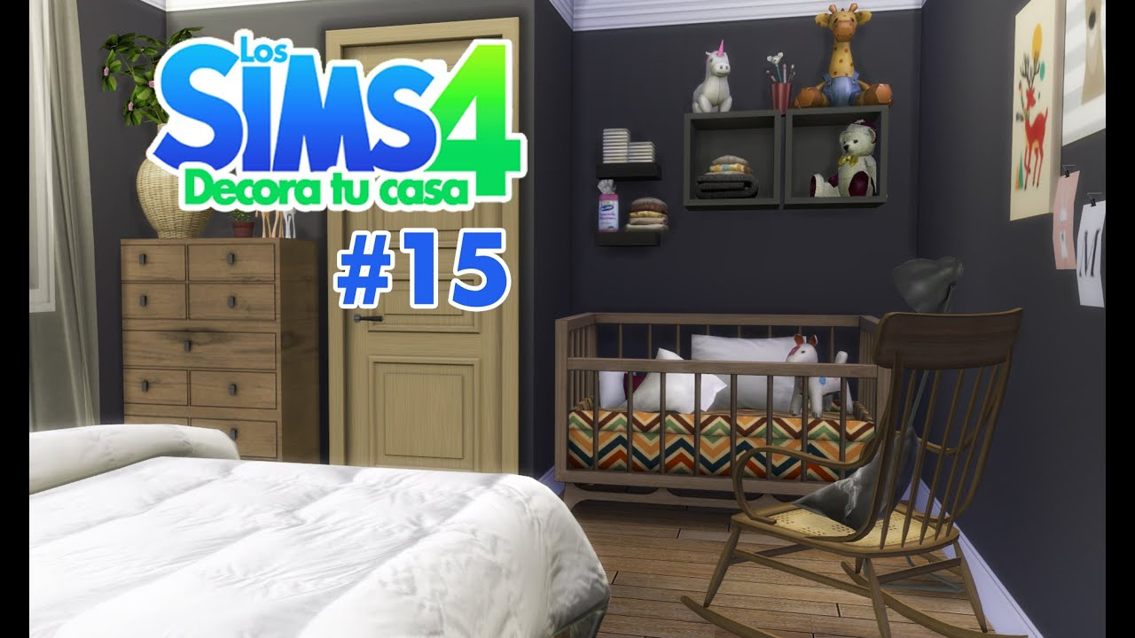 Los sims 4 decorar tu casa cap 15 youtube for Casas modernas sims 4 paso a paso