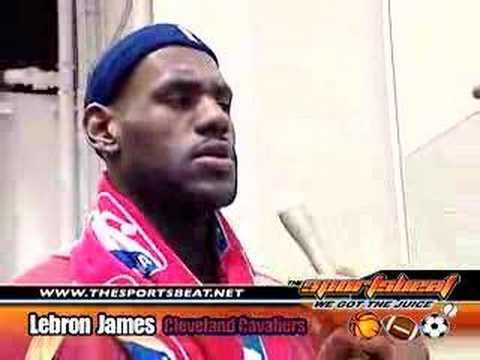 Lebron James Interview With Donyell Marshall