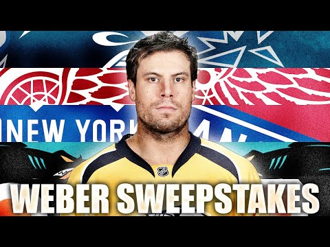 The Shea Weber Sweepstakes (Canucks, Red Wings, Rangers, Sharks, Flyers) NHL History / Trade Rumours