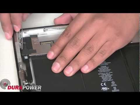 How to take apart the iPad 2 by DurapowerGlobal.com