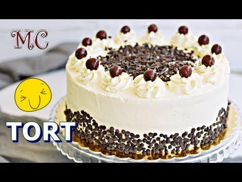 Tort Szwarcwaldzki z Wiśniami – Black Forest Cake Przepis – Mała Cukierenka