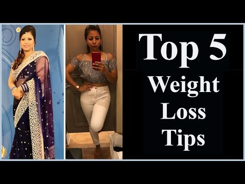 Top 5 Weight Loss Tips to Lose Weight Fast & Maintenance – No Diet No Exercise | Fat to Fab