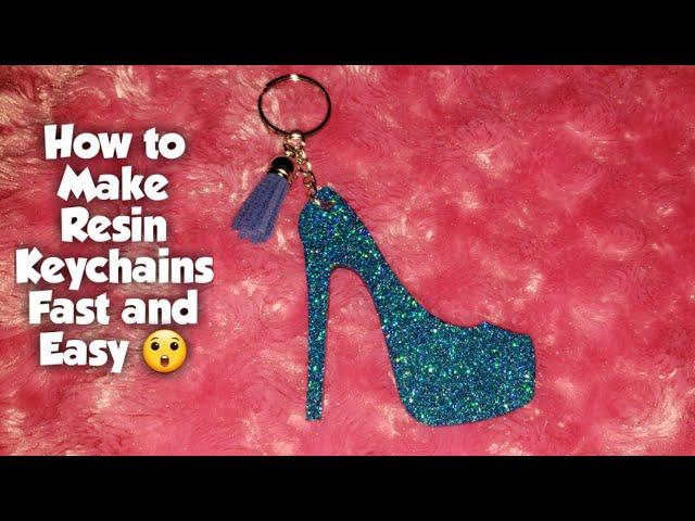 keychain High Heel Resin