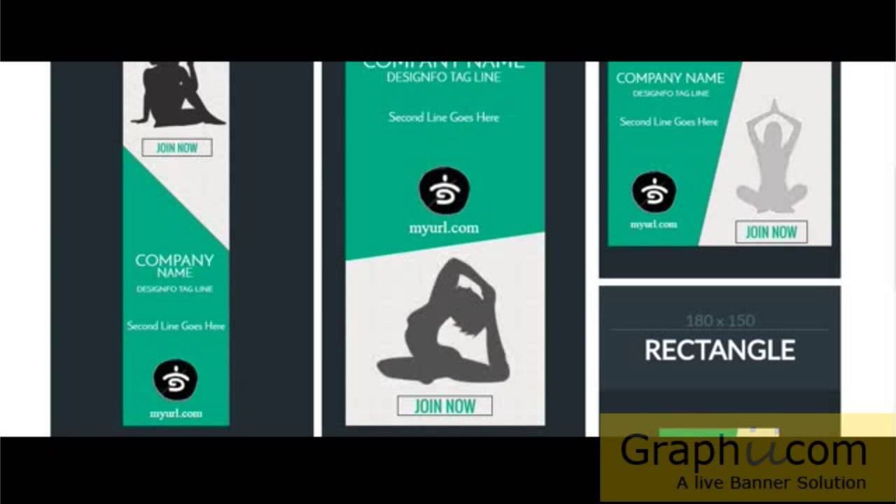 graphiicom: html5 banner ads only $5 youtube