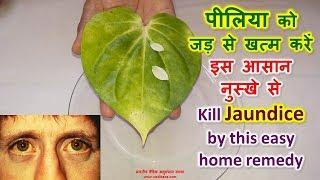 Kill Jaundice by this easy home remedy, पीलिया को जड़ से खत्म करें इस आसान नुस्खे से