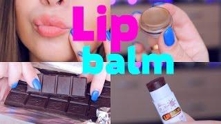 DIY Шоколадный бальзам для губ своими руками