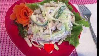 """Beef salad """" mol tilidan salat retsepi"""
