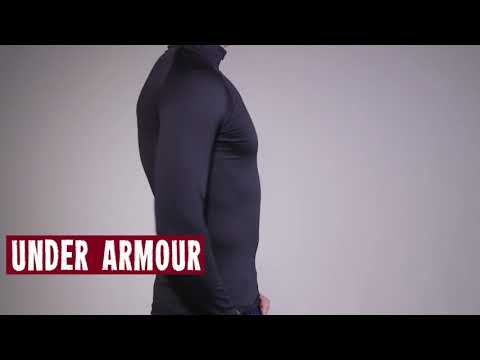 b8045229 Under Armour Mens UA Base 2.0 1/4 Zip Top 2017 Review - YouTube
