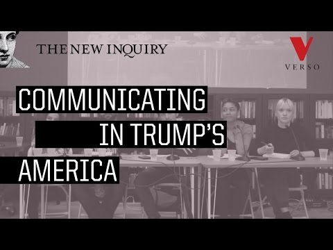 Communicating in Trump's America